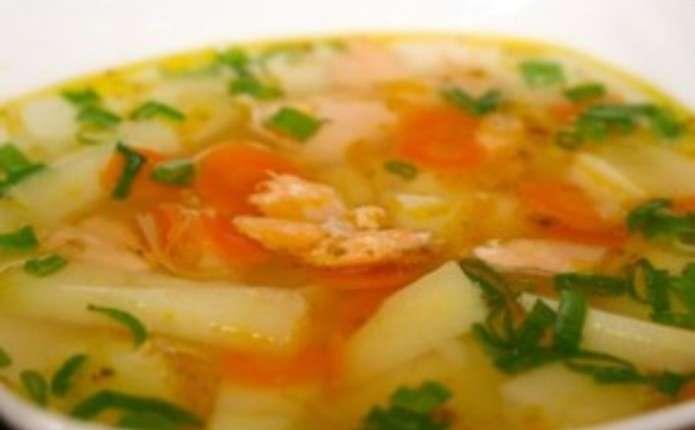 Суп с форелью рецепт