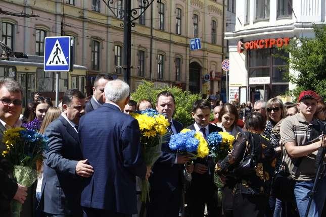 Роковини перепоховання Т. Г. Шевченка відзначили уКропивницькому