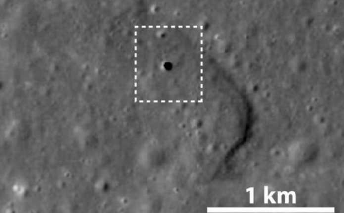 На Місяці знайшли гігантську печеру
