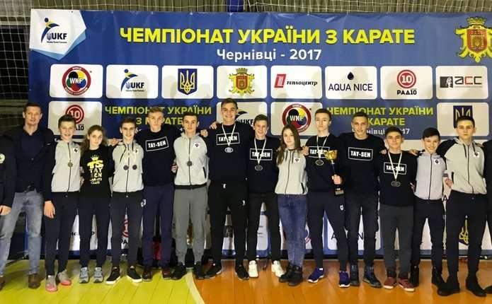 УЧернівцях начемпіонаті України зкарате заперемогу боролися 550 спортсменів