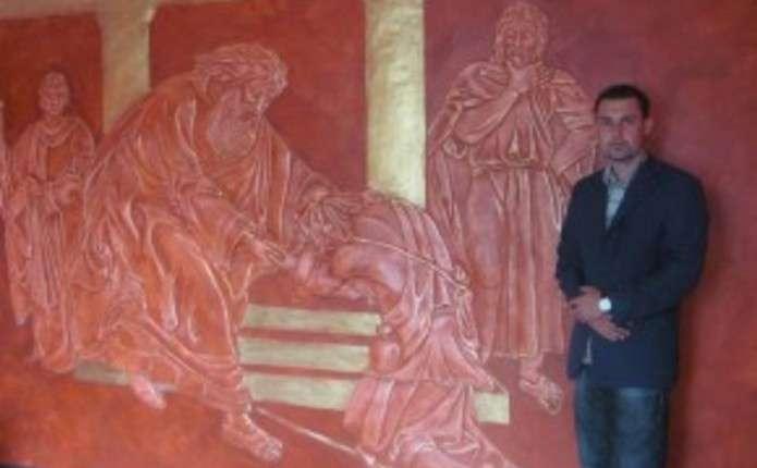 Буковинець відтворює біблійні сюжети в об'ємі