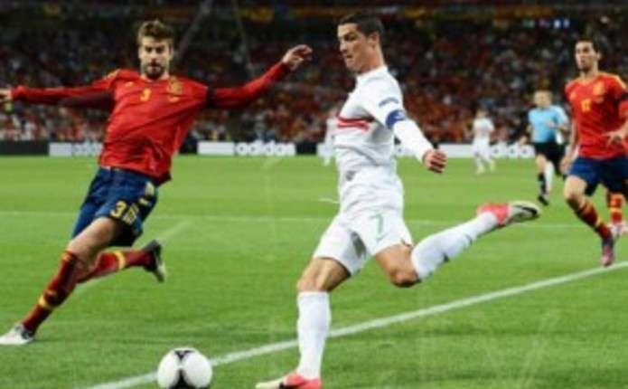 Євро-2012: Іспанія вибиває Португалію з турніру, перегравши її по серії пенальті. Відео. Фото