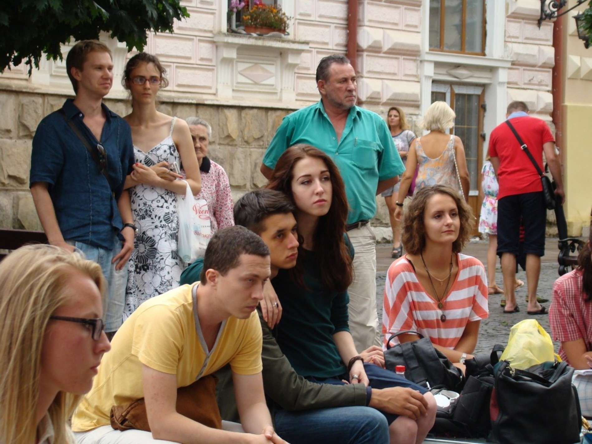Поети і музиканти з Полтави виступили на Кобилянській у Чернівцях