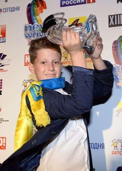 Українець переміг на дитячій Новій хвилі