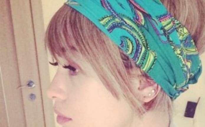 Марія Яремчук приміряла образ блондинки