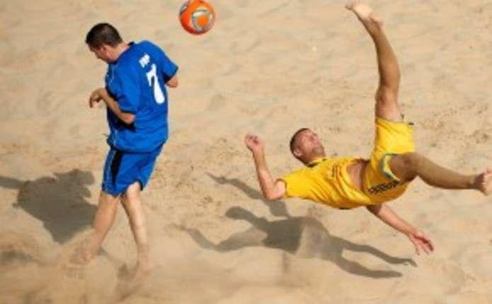 Збірна України з пляжного футболу розгромила Францію у відборі на ЧС-2015