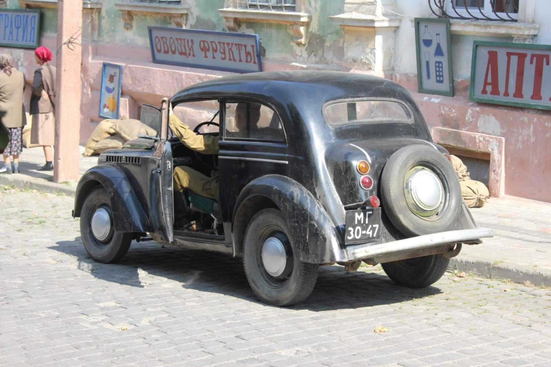 На вулицях Чернівців проходять зйомки воєнно-історичної драми