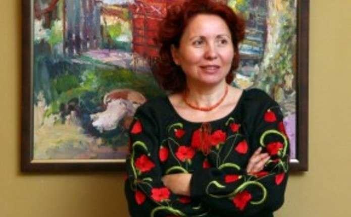 М. Рибачук презентує чернівчанам 20 робіт, які писала протягом останніх років