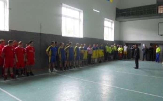 У Сокирянській колонії провели благодійний турнір з міні-футболу