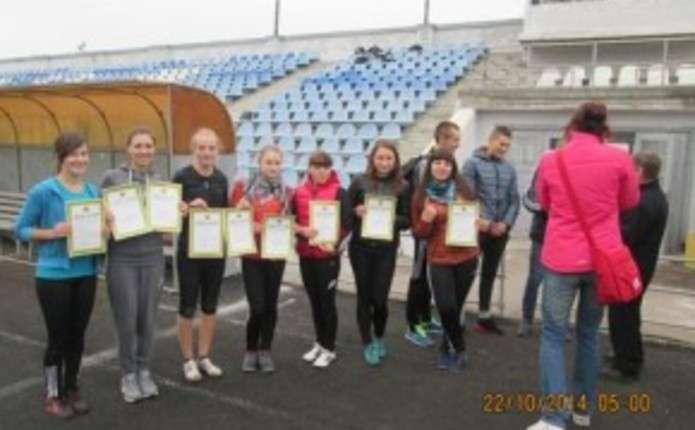 У Чернівцях відбулися змагання з легкої атлетики серед вихованців училищ