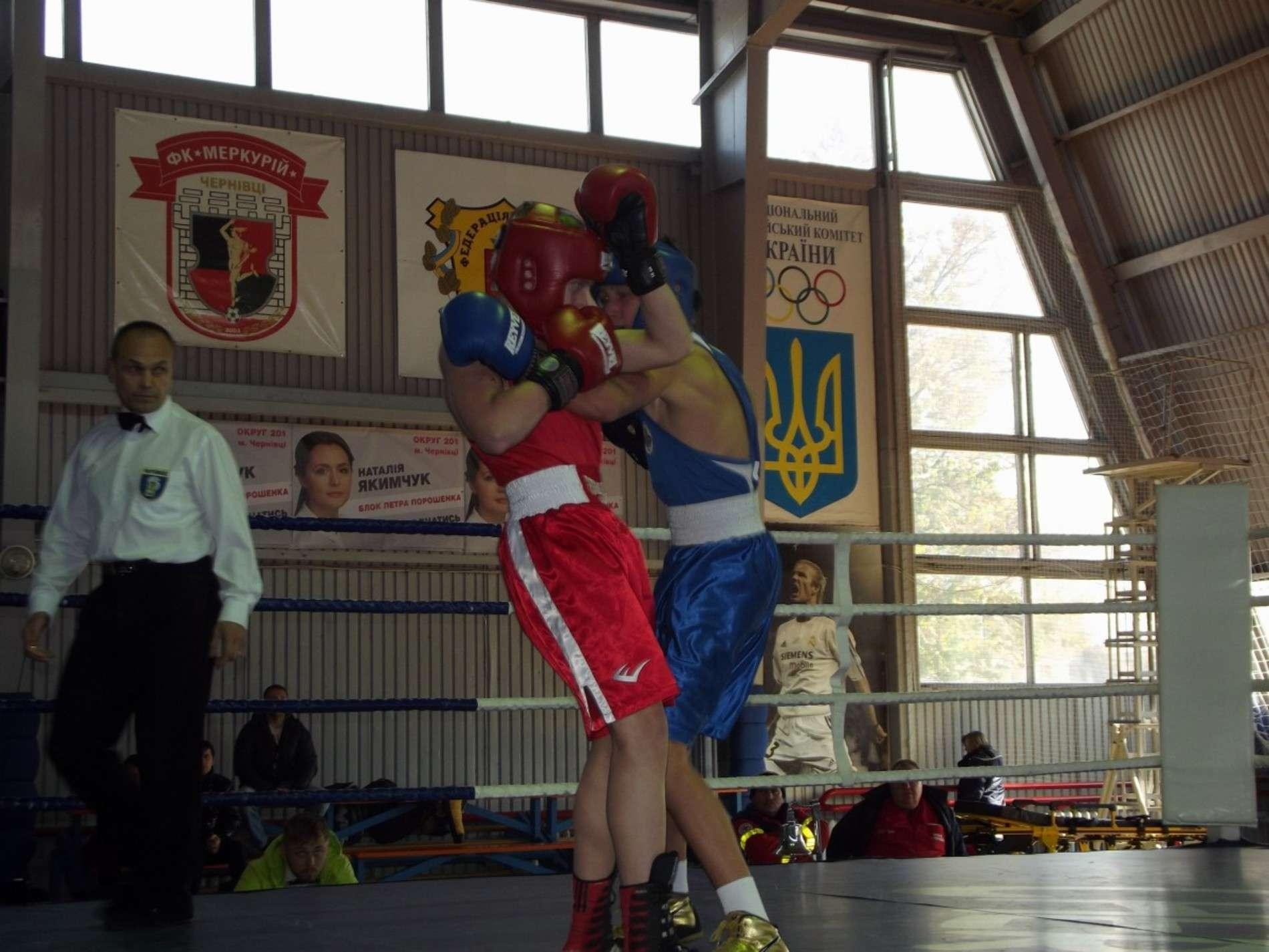 У Чернівцях фінішує чотириденний чемпіонат України з боксу