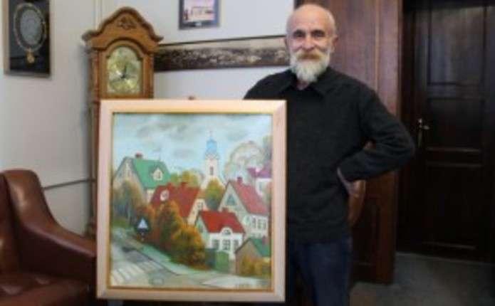 Чернівецькій міській раді подарували картину