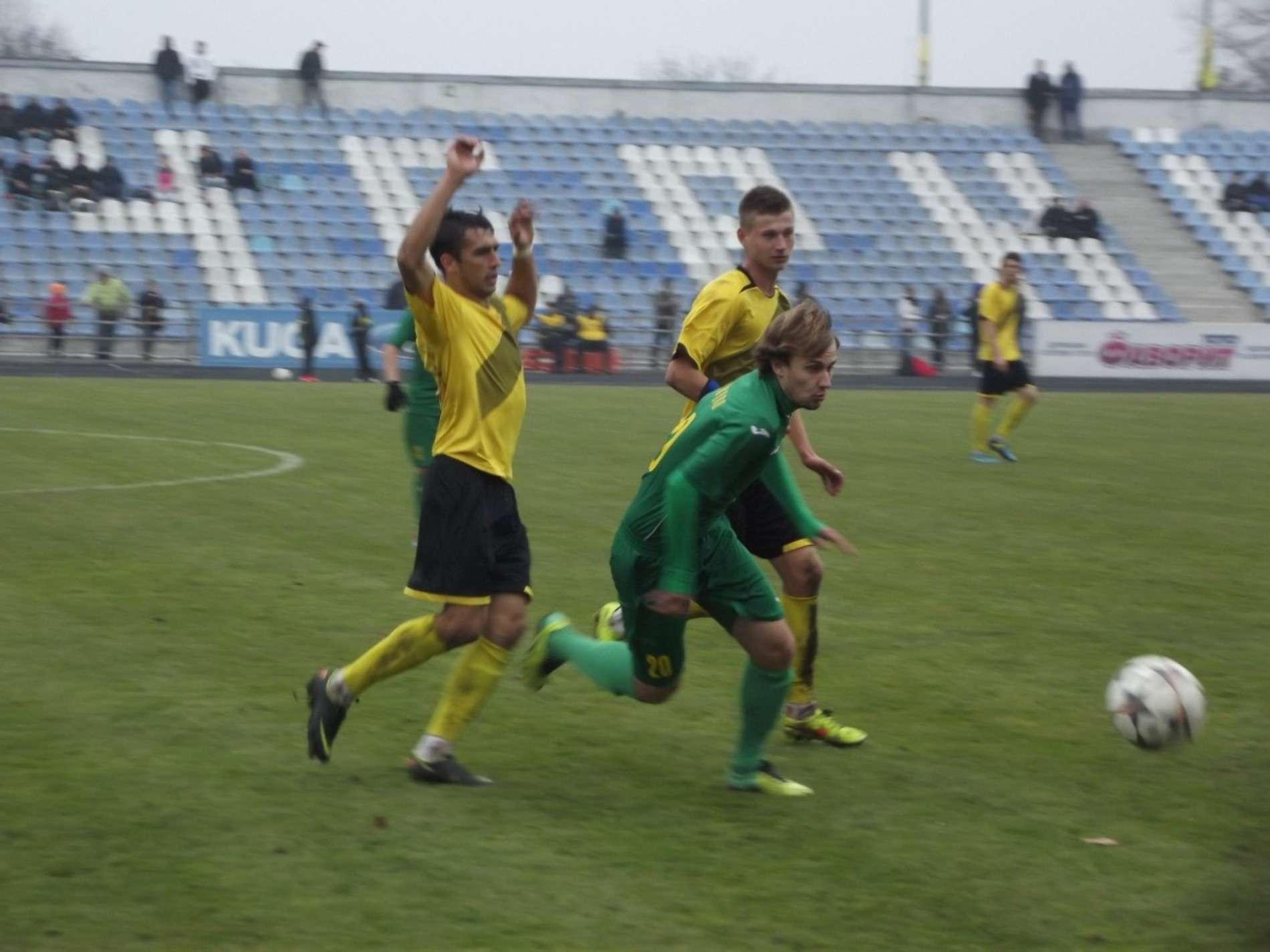 ФК Буковина зіграла проти тернопільської Ниви - 2:0