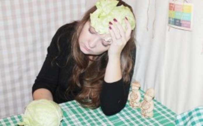Від головного болю врятує капуста і картопля