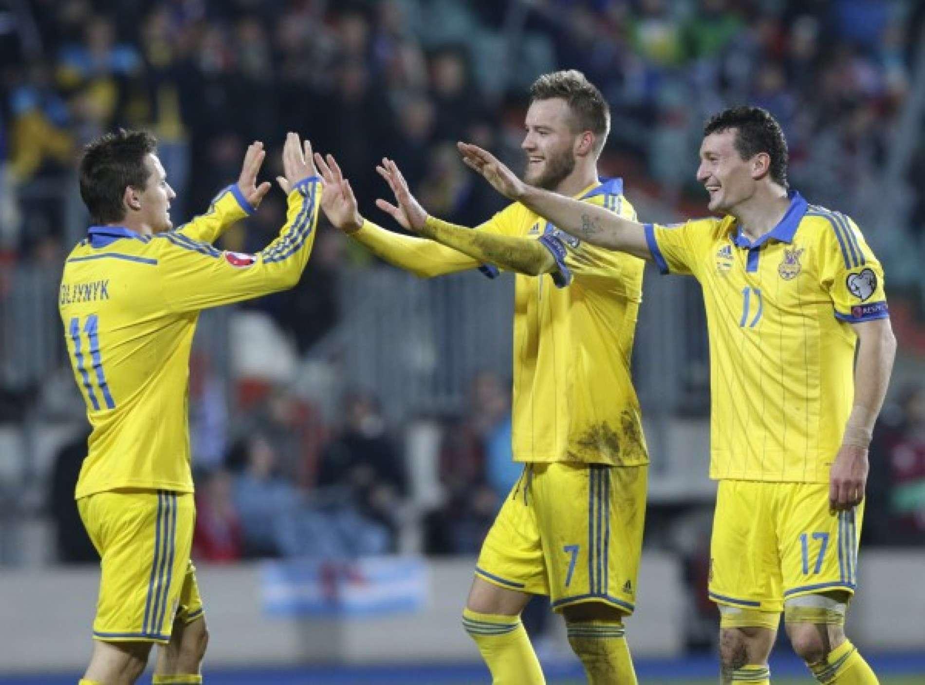 Збірна України розгромила команду Люксембургу
