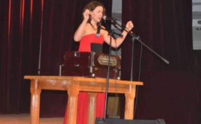 Українська співачка з Німеччини Мар'яна Садовська виступила у Чернівцях