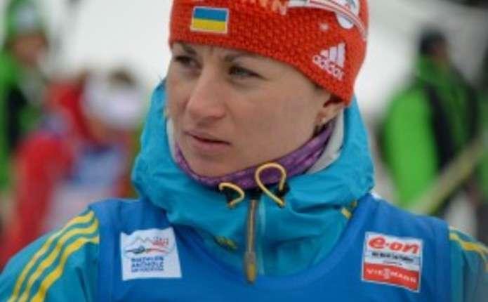 Українська біатлоністка Валя Семеренко завоювала медаль в спринті