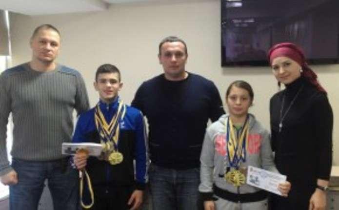 Відзначили кращих юних пауерліфтерів Чернівецької області