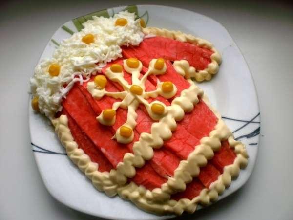 Фото рецепты новогодних салатов 2013
