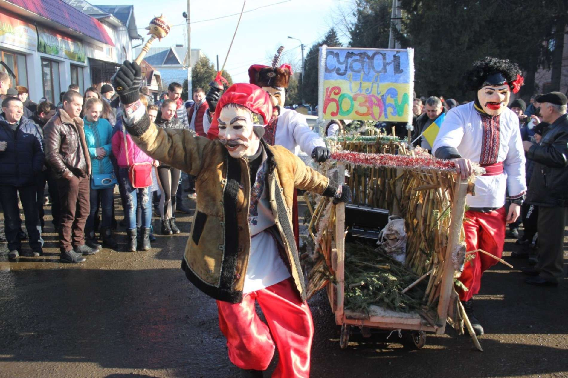 Маланка 2015: як маланкували у Вашківцях на Буковині