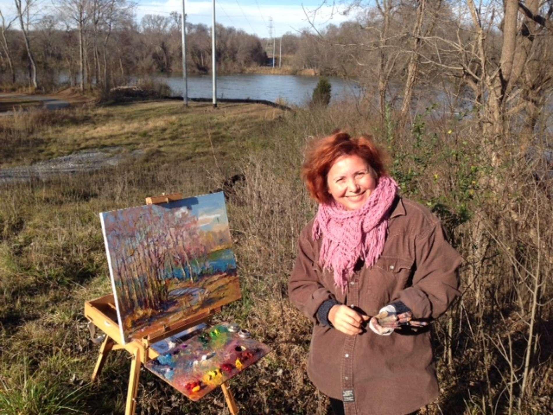 Чернівецька художниця Марина Рибачук переживає творчий стрибок в Америці