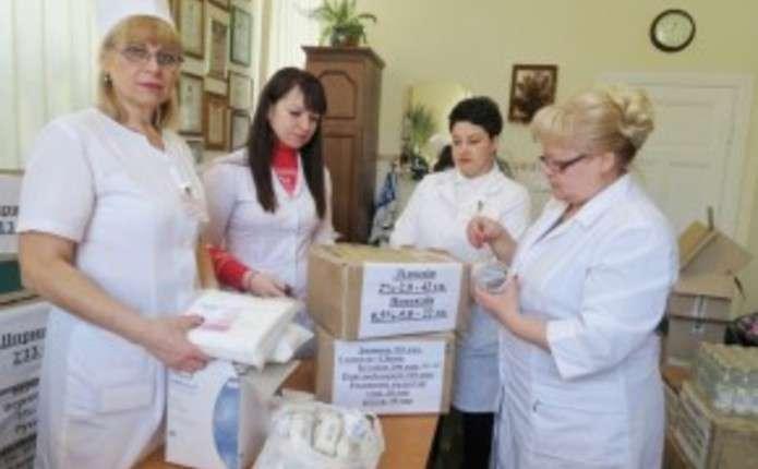 Чернівецькі медики передали для бійців АТО ліків на суму понад 43 тис. грн.