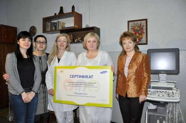 У Чернівецькій дитячій лікарні встановили УЗД-сканер за півмільйона гривень