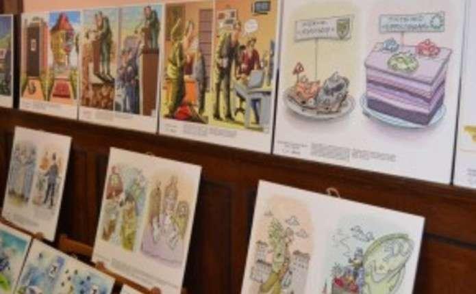 У Чернівцях розпочала роботу виставка карикатур Є краща сторона Європи