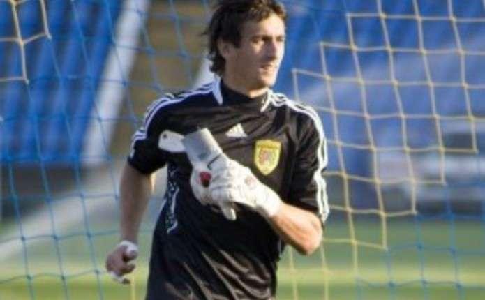 Колишній воротар Буковини Мусієнко на перегляді в тернопільській Ниві