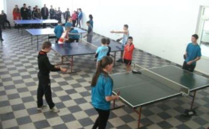 На Путильщині відбулися районні змагання з настільного тенісу