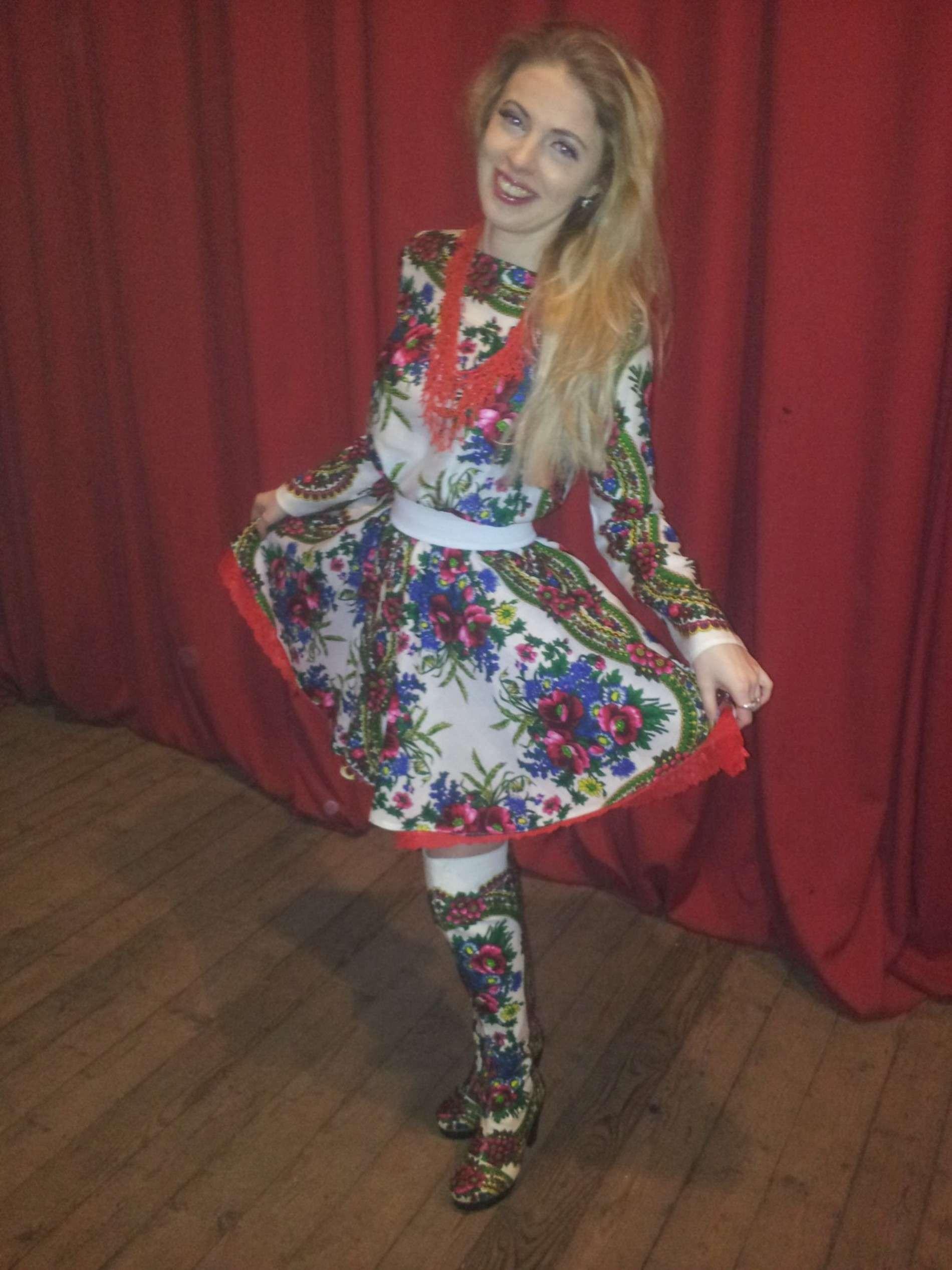 Чернівчанка Христина Охітва дала п'ять концертів на полігонах