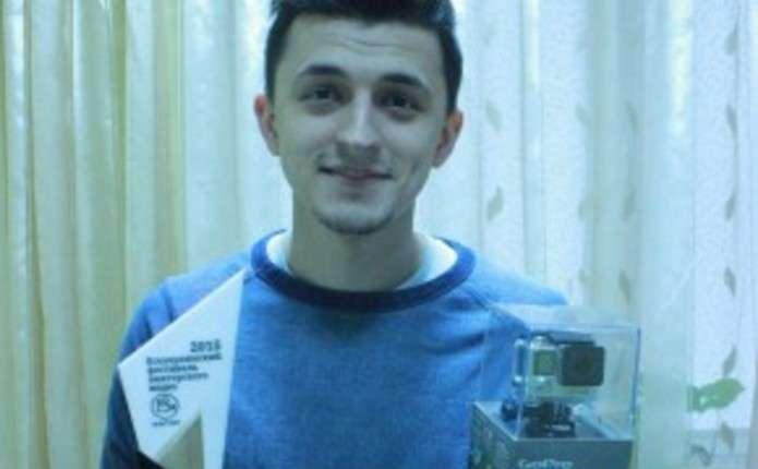 Чернівчанин переміг на фестивалі аматорського відео