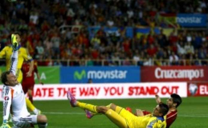 Євро-2016: Збірна України програла Іспанії у матчі відбору