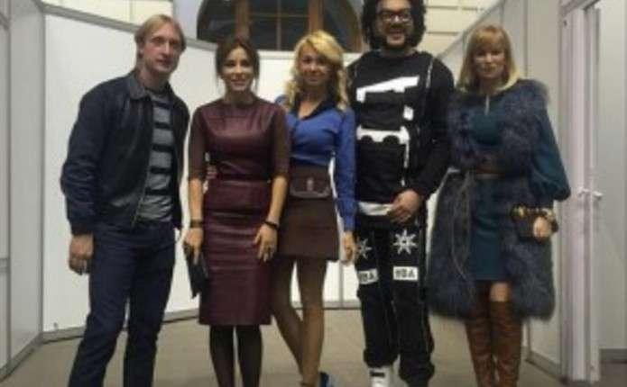 Ані Лорак знову відвідала Москву