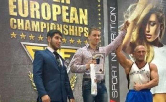Чернівчанин О. Перчик здобув перемогу на чемпіонаті Європи з пауерліфтингу