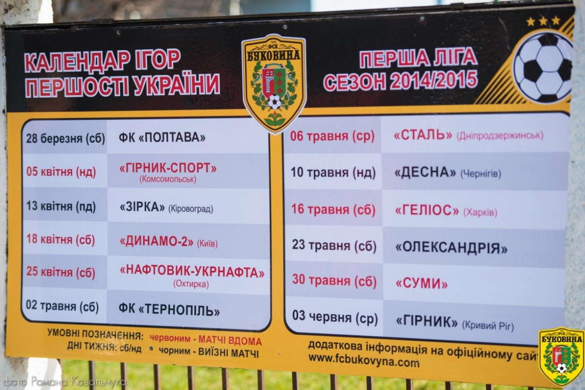 Як ФК Буковина зіграла вдома з комсомольським Гірником