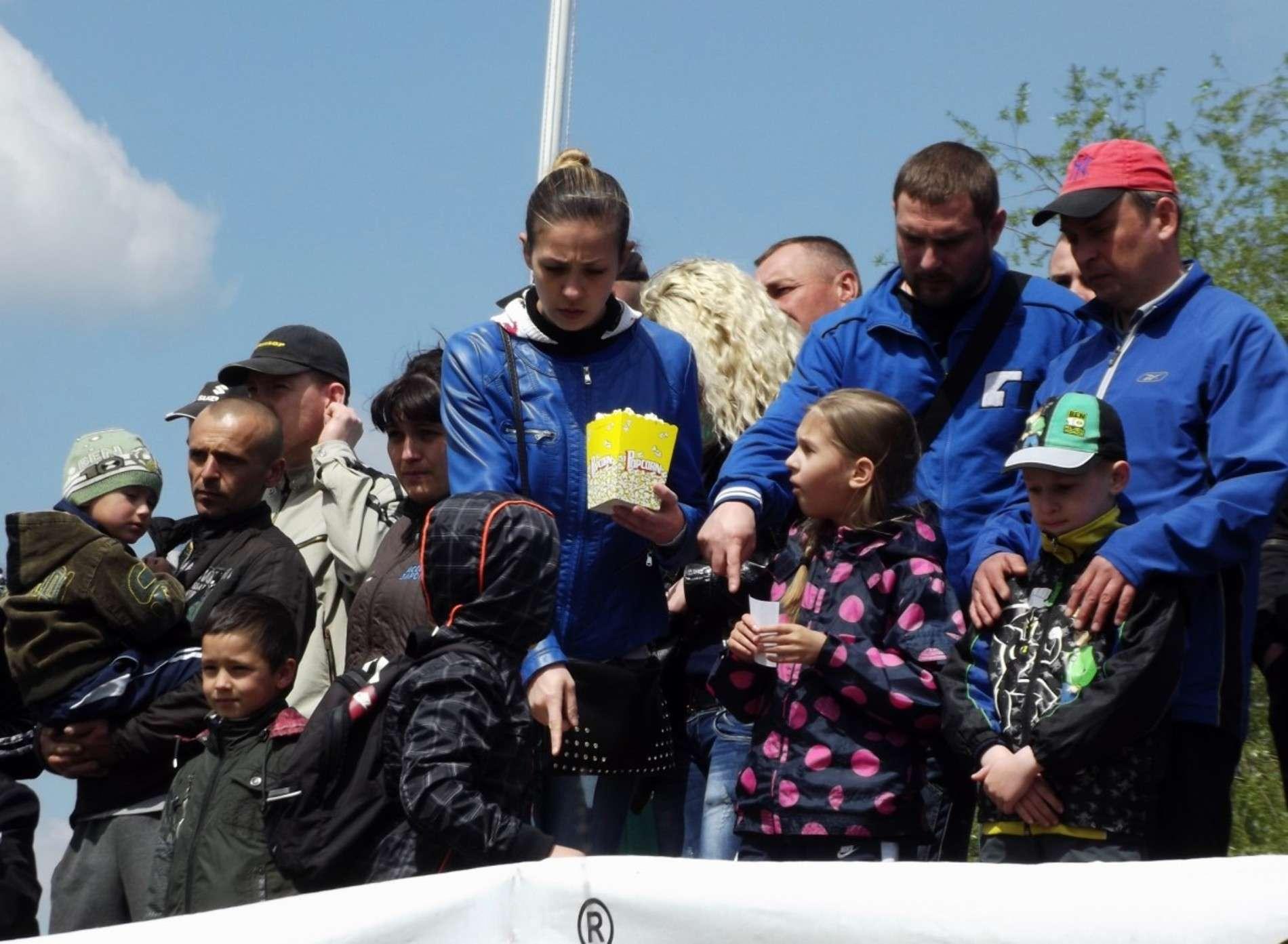 Чемпіонат України з флет треку у Чернівцях зібрав кілька сотень глядачів
