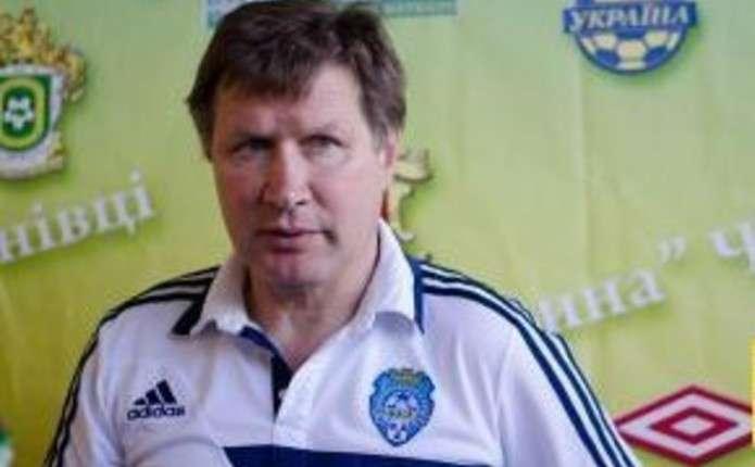 Юрій Ярошенко побажав ФК Буковина залишитися у Першій лізі