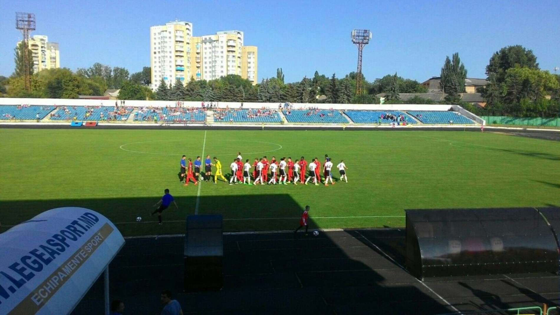 ФК Буковина зіграла у молдавському місті Бєльці