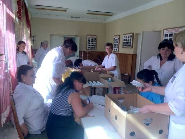 Районна лікарня Кіцманя отримала гуманітарну допомогу з Німеччини