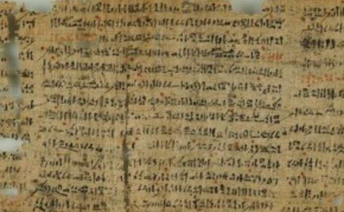 У єгипетському папірусі виявили приворотне заклинання