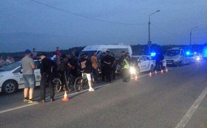 Водій маршрутки з пасажирами втікав від поліції у Чернівецькій області