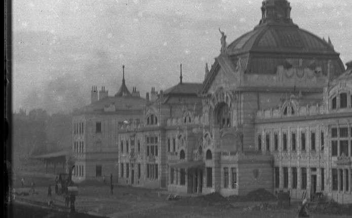 В Інтернеті опублікували світлини будівництва доріг у Чернівцях на початку ХХ століття