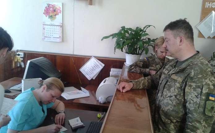 Особовий склад Чернівецького обласного військкомату здав кров