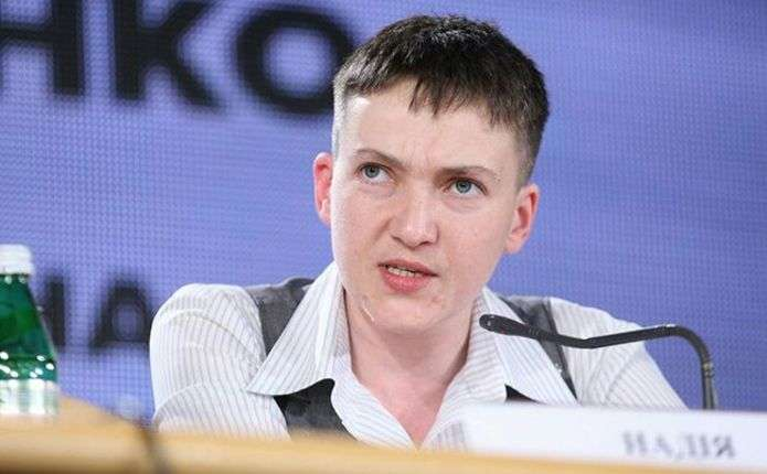 Савченко розповіла, про що говорила з Порошенком