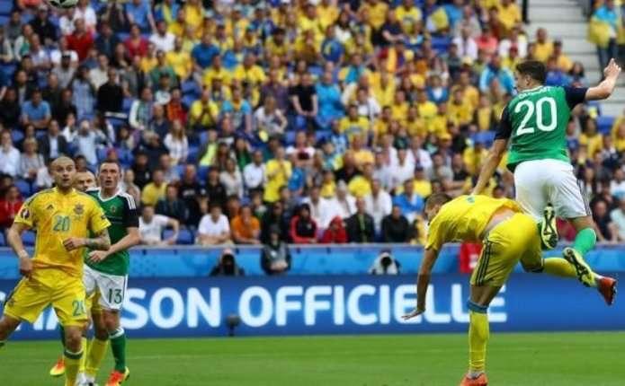 Україна програла другий матч Євро-2016 від Північної Ірландії