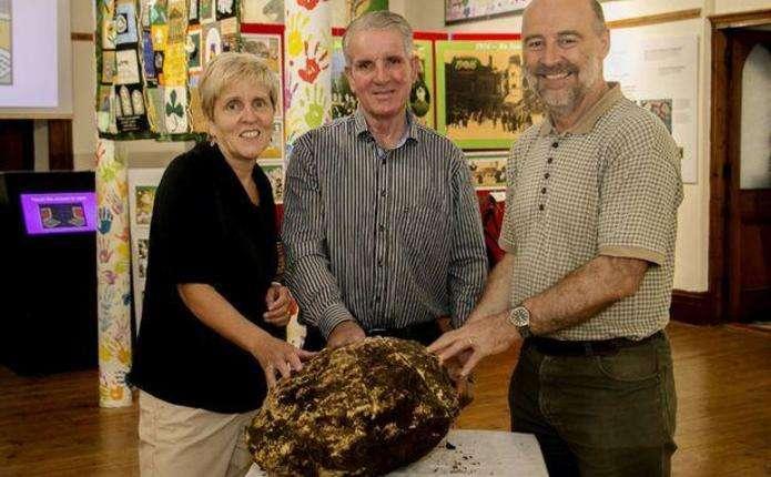 В ірландському болоті знайшли великий 2000-річний шматок їстівного масла