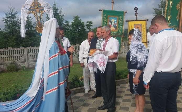 У день Святої Тройці митрополит Данило звершив богослужіння у храмі села Снячів