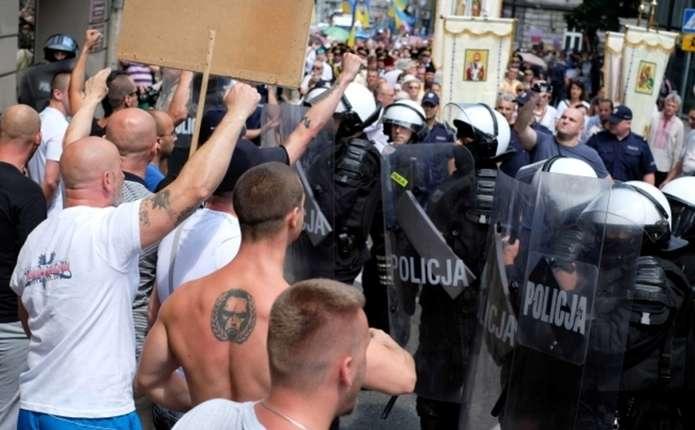 У Польщі напали на процесію греко-католиків, які вшановували українських січових стрільців