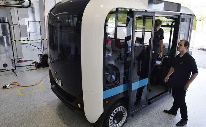 У США на 3D-принтері надрукували автобус